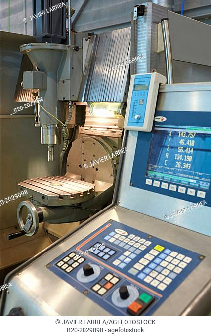 CNC. Machine Tool. Technology Center. Donostia. San Sebastian. Gipuzkoa. Basque Country. Spain