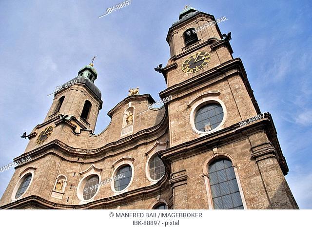 Dom St. Jakob, Innsbruck, Tirol, Austria