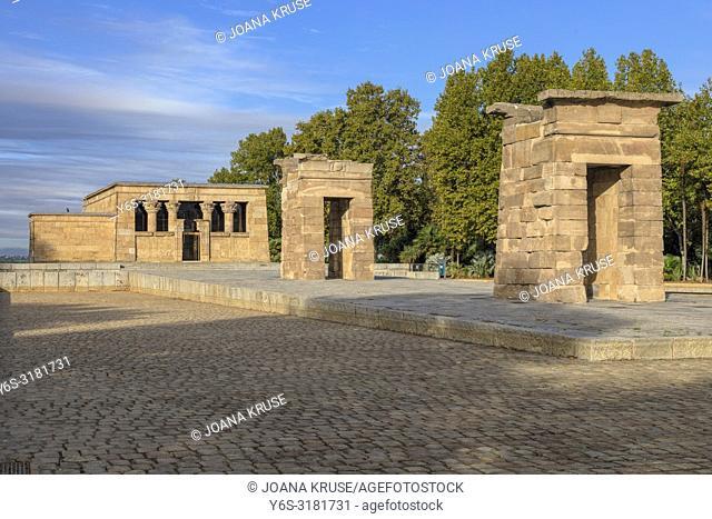 Madrid, Temple of Debod, Spain, Europe