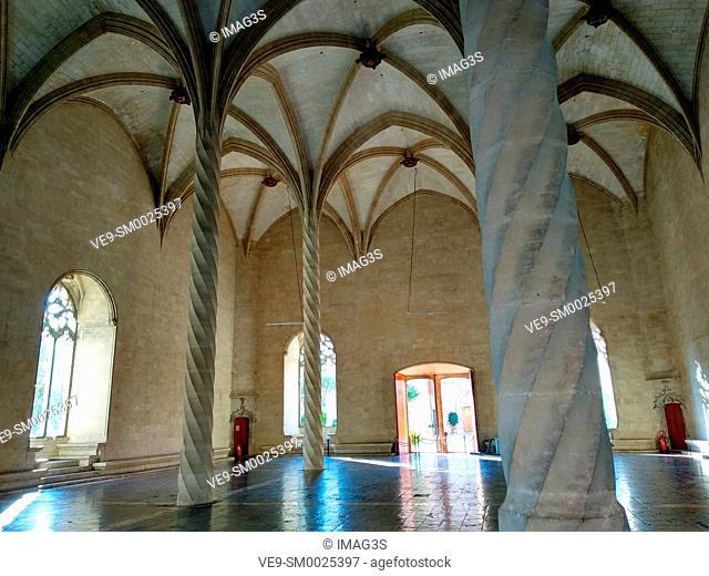 La Llotja cultural center and art gallery in Palma de Mallorca, Spain