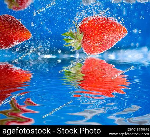 Plunging Strawberries