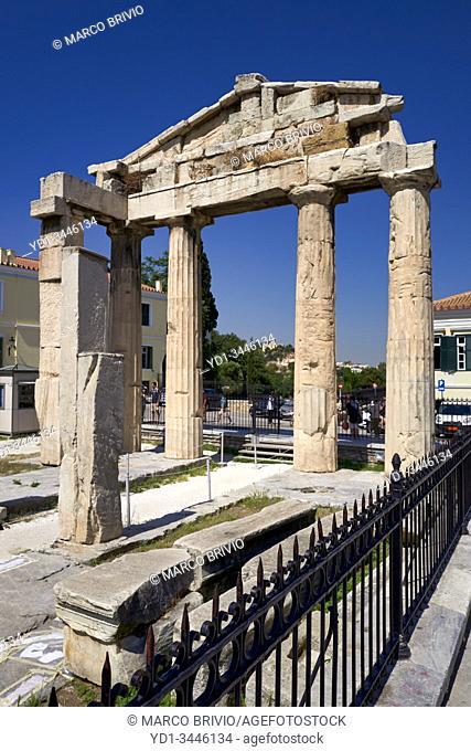 Athens Greece. The Roman Agora