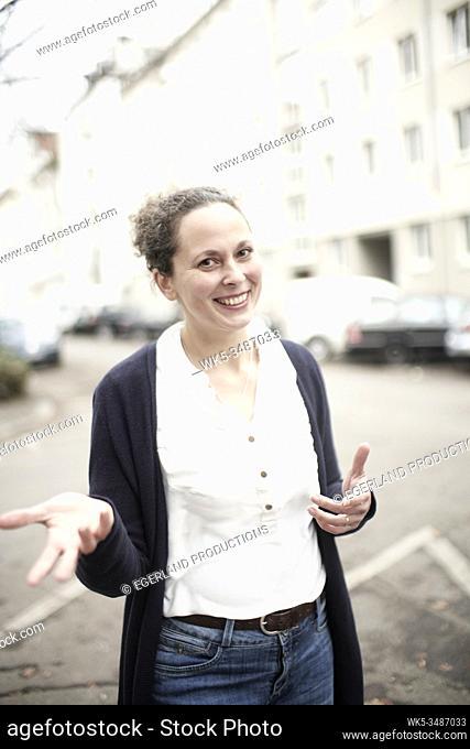 Portrait of Woman, Munich, Germany