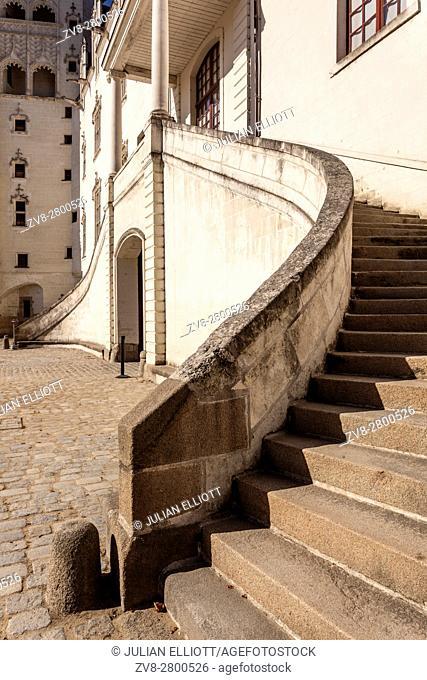 The Chateau des ducs de Bretagne in the city of Nantes in France