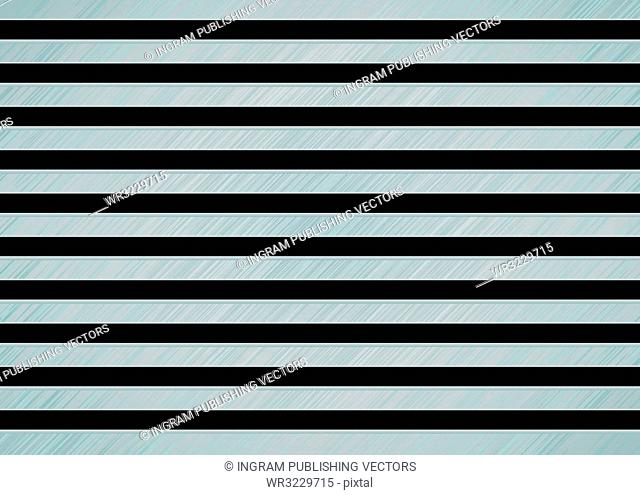 Brushed metal background with slats and brushed effect