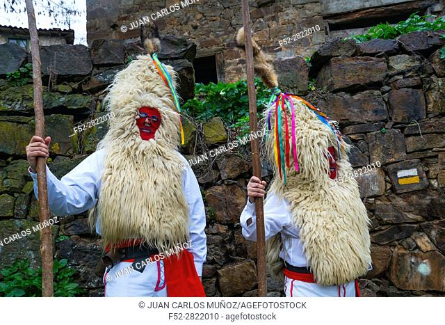 "Carnival """"Sidros y Comedies"""", Valdesoto, Asturias, Spain, Europe"