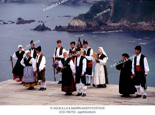'La Regalina', local festival. Luarca. Asturias. Spain