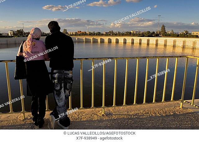 Tunez: Kairouan  Large water reservoir built by the Aghlabids
