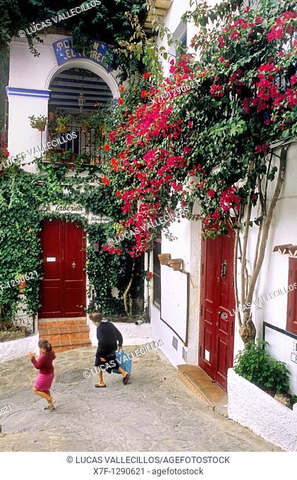 `Puerta de la Ciudad' Town gate Mojacar, Almeria province, Andalucia, Spain