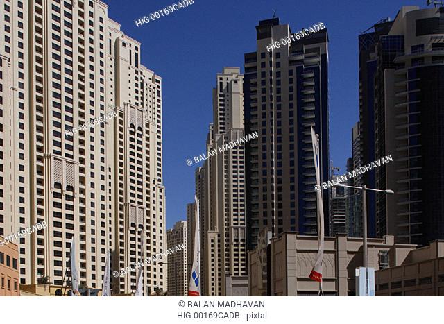 HIGH RISE BUILDINGS IN DUBAI, UAE
