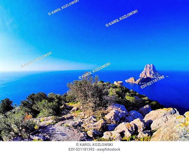 Es Vedra on Ibiza