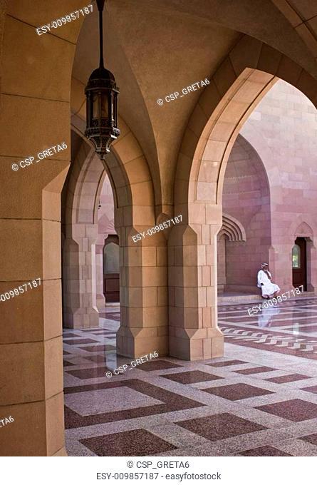 Sultan Qaboos Grand Mosque entrance