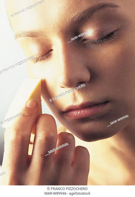 woman, make up