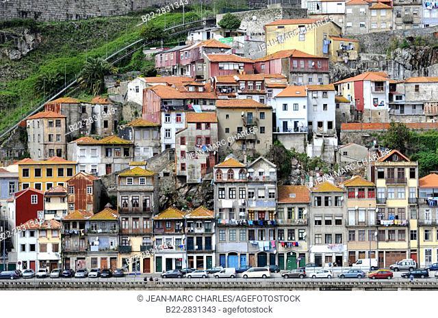 District of Porto, alongside the Douro River, Porto, Portugal