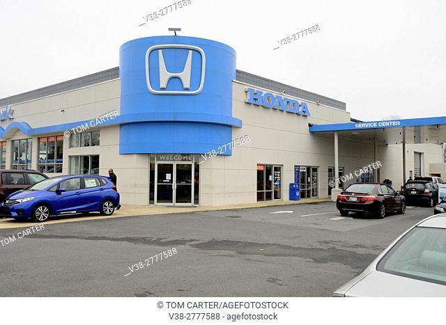 A Honda dealership in College Park, Maryland