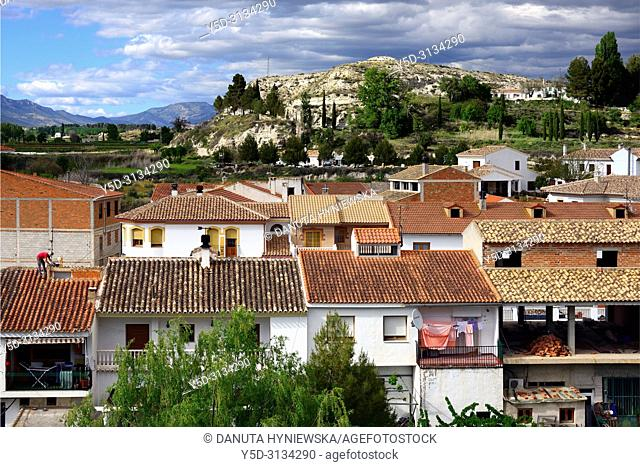 Galera village - unspoilt cave country in mountainous region of northern Andalusia, between the Sierra Nevada and the Sierra de Castril, municipality Huéscar