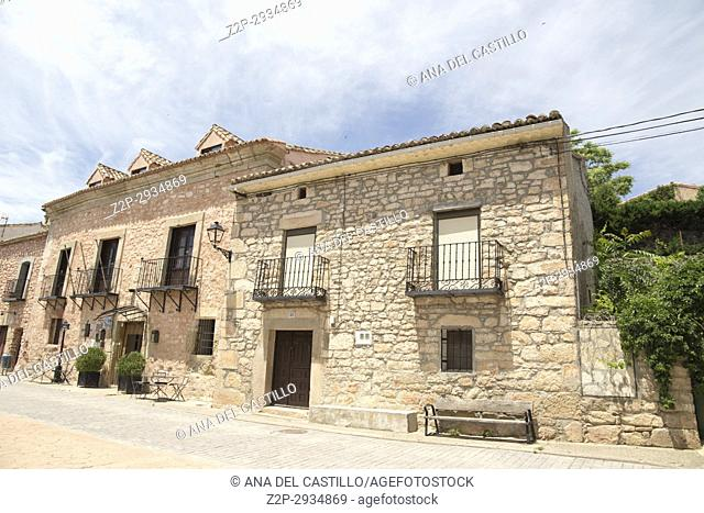 Route of Cid and Don Quixote, Atienza village in Guadalajara, province, Castilla-La Mancha,. Spain