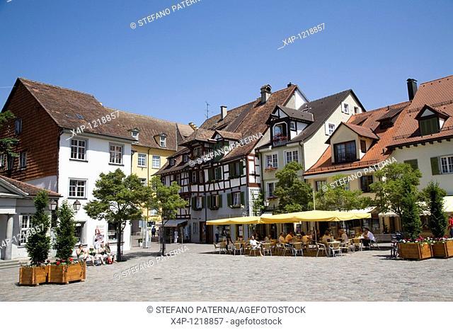 Oberstadt in Meersburg, Germany