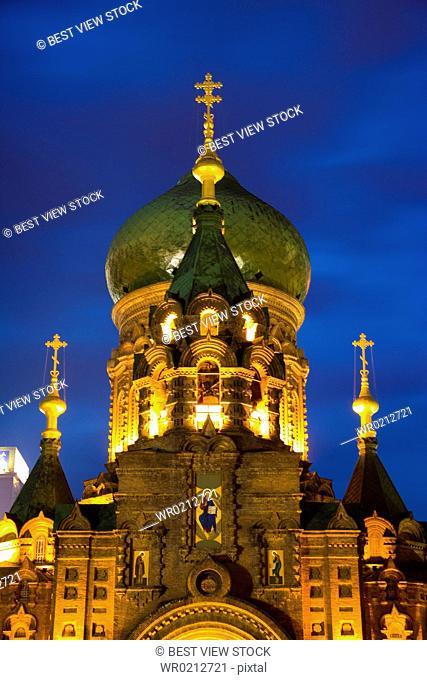 Heilongjiang,Harbin,St.Sophia Church,Church