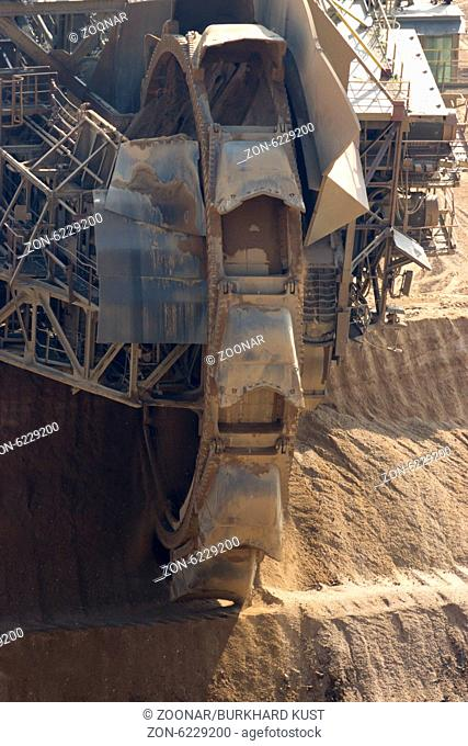 Brown coal mining Hambach, Germany