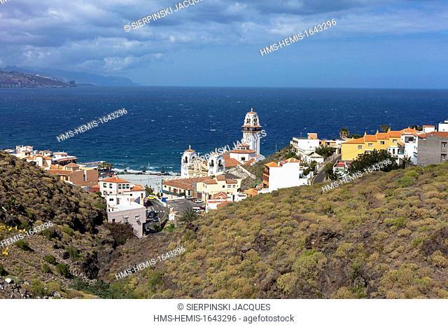 Spain, Canary islands, Tenerife island, Candelaria, Basilica de Nuestra Senora de Candelaria
