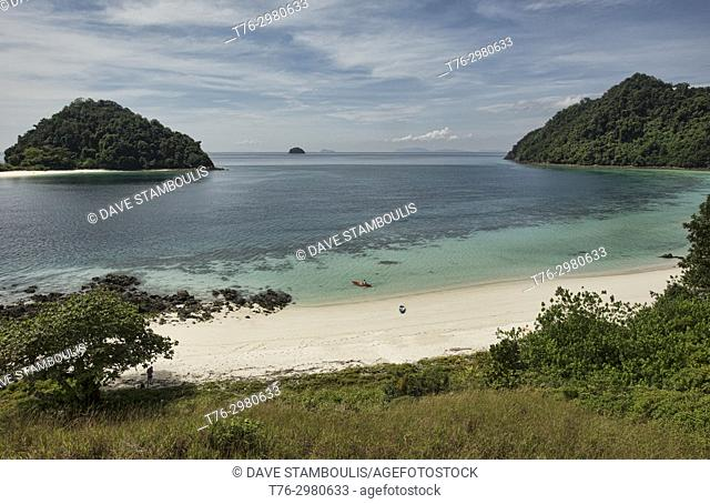 Island paradise, Mergui Archipelago, Myanmar