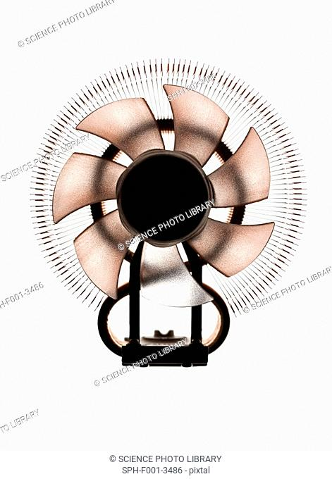 Computer fan, computer artwork