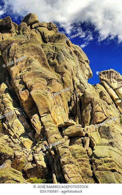 La Pedriza. Regional park of 'Cuenca Alta del Manzanares'. Sierra de Guadarrama. Madrid. Spain