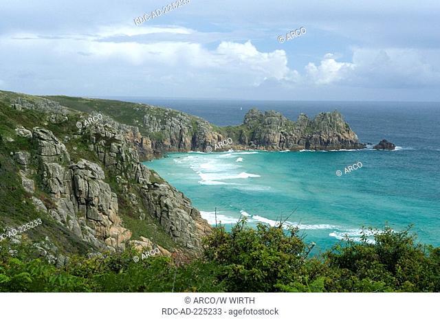 Bay of Porthcurno, St Levan, Cornwall, England