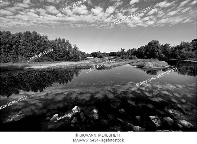 Italy, Lombardy, Parco del Ticino, Ticino natural park, Lanca di Bernate