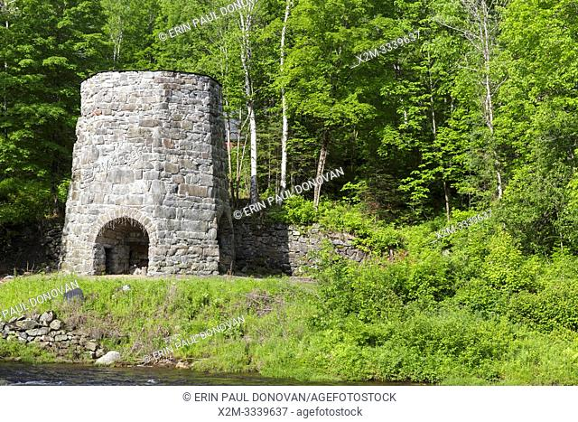 Stone Iron Furnace in Franconia, New Hampshire USA