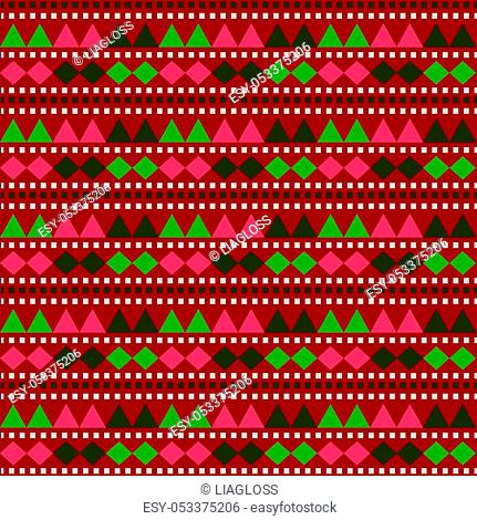 Seamless geometry pattern, repeatable background for website, wallpaper, textile printing, texture, editable, in vector