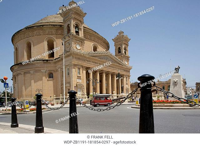 Maltese Islands, Malta, Mosta, Mosta Dome