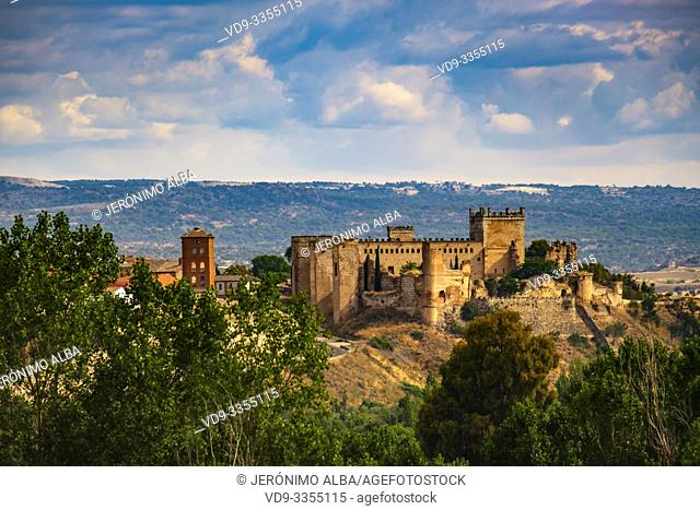 Castle palace of Escalona. Toledo province, Castilla-La Mancha. Spain Europe