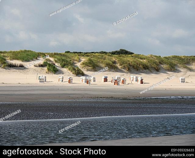 Insel Spiekeroog in der Nordsee