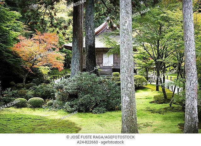 Sanzen-in Temple, Kyoto City, Japan (October 2008)