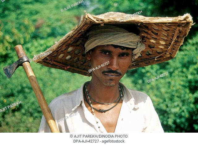 rural man ; chattisgarh ; india