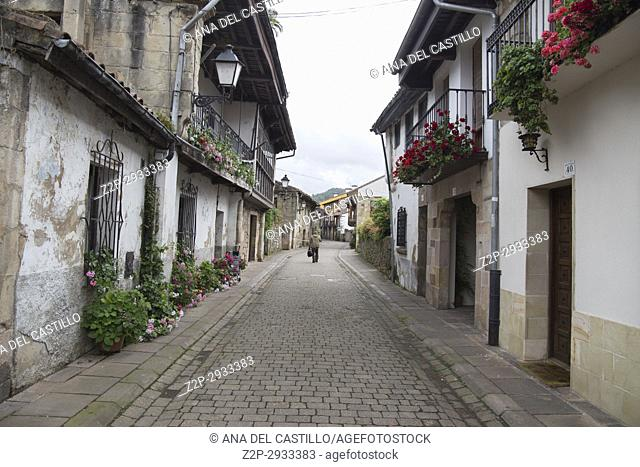 Cartes is a medieval village in Cantabria, Spain
