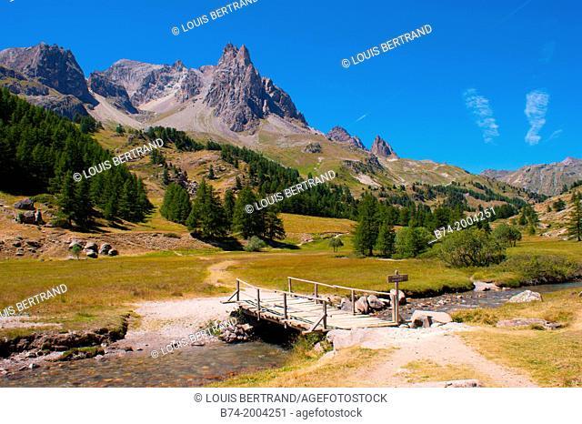 vallee de la claree,nevache,hautes alpes,france