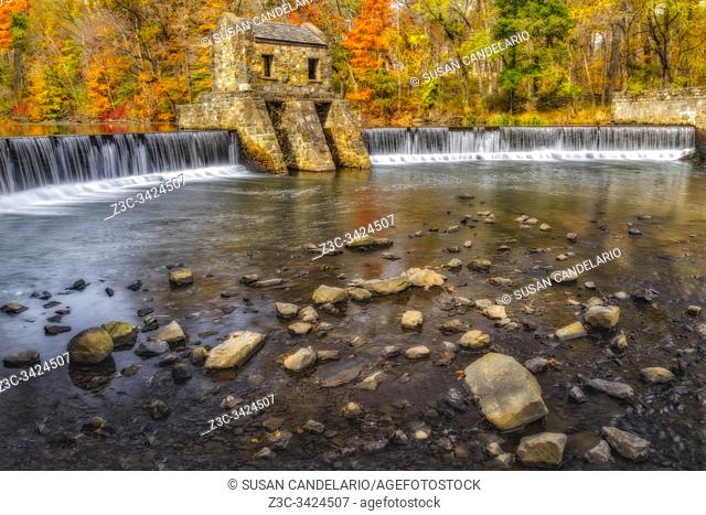Speedwell Dam And Waterfall