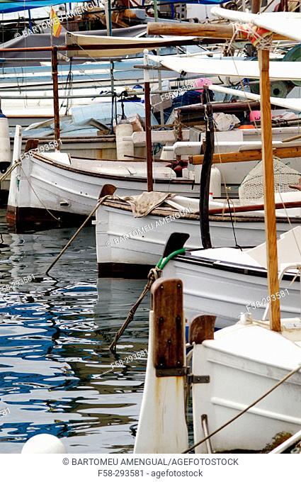 Bay of Sant Antoni de Portmany. Ibiza. Balearic Islands. Spain