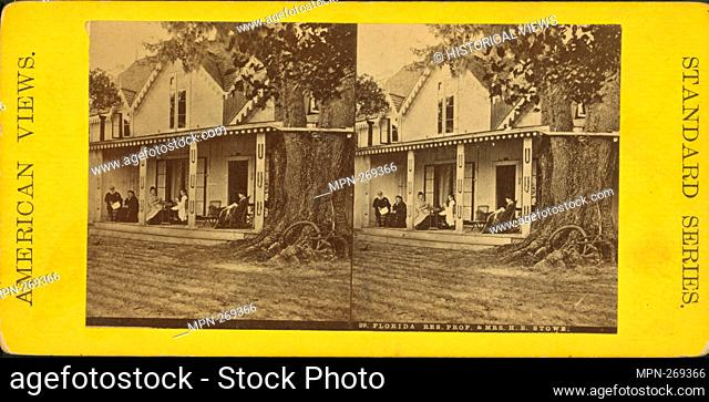 Florida res., Prof. & Mrs. H. B. Stowe. Additional title: American Views. Standard Series. Robert N. Dennis collection of stereoscopic views United States...