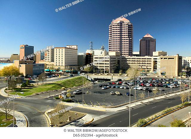 Downtown from Convention Center. Albuquerque. New Mexico, USA