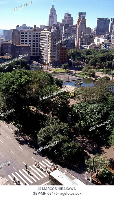 Praça da Sé, Edifício Banespa, Centro, São Paulo, Brazil