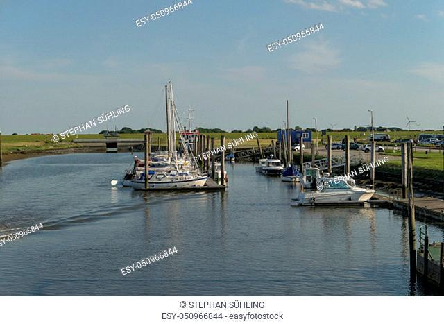 The small island of baltrum in the north sea