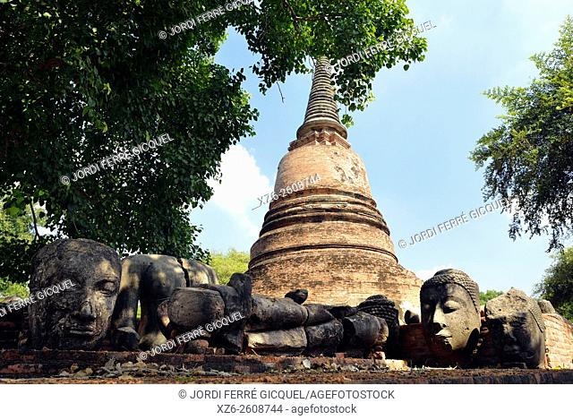 Wat Ratchaburana, buddhist temple, Phra Nakhon Si Ayutthaya, Thailand, Asia