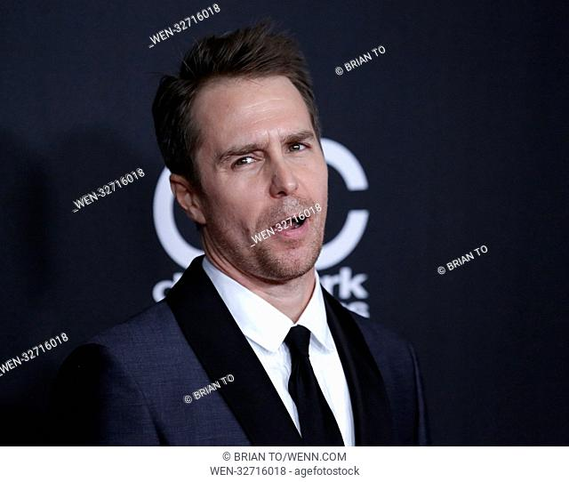21st Annual Hollywood Film Awards, held at the Beverly Hilton Hotel in Beverly Hills, California. Featuring: Sam Rockwell Where: Beverly Hills, California