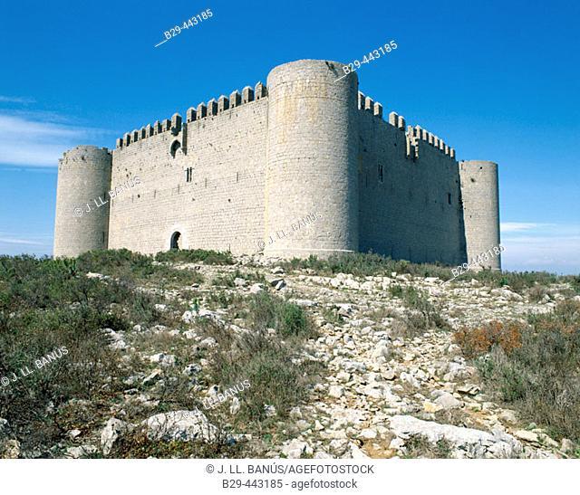 Castle of Torroella de Montgrí. Baix Empordà, Girona province. Catalonia, Spain