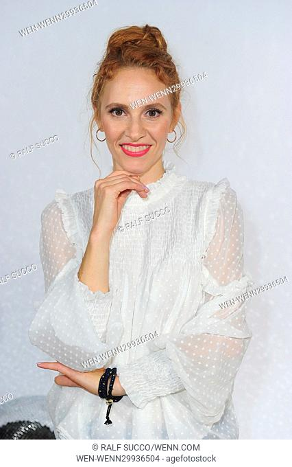 Photocall Pro7 TV-Show 'Deutschland tanzt' at Soho House. Featuring: Kassandra Wedel Where: Berlin, Germany When: 27 Oct 2016 Credit: Ralf Succo/WENN