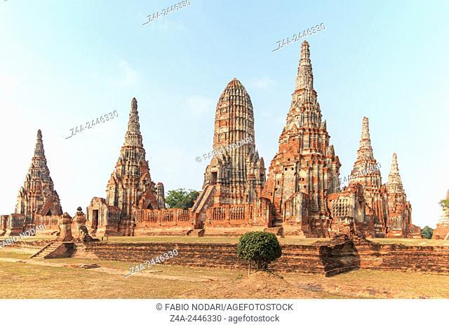 Temple Phra Nakhon in Ayutthaya, Thailand